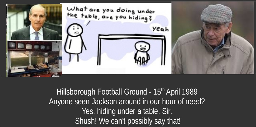 Hillsborough Football Ground - 15 th April 1989